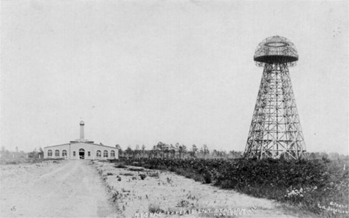 Wardenclyffe tower & lab