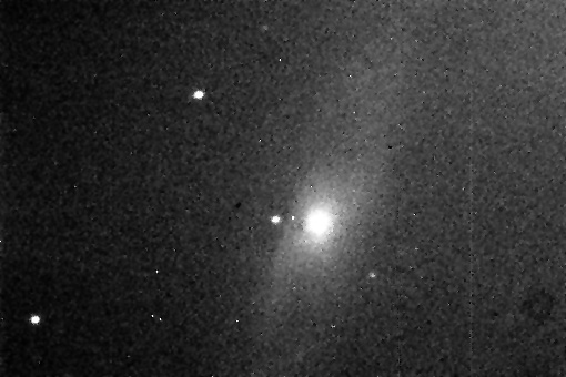 Leo Triplet: M65 Date: 3-26-08 Exposure: 2 Seconds Magnitude: 10.3 Processing: levels adjustments despeckle